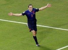 Стефан де Врей забил единственный гол голландцев в ворота чехов