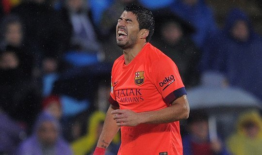 Луис Энрике пока никак не может найти место на поле для уругвайца