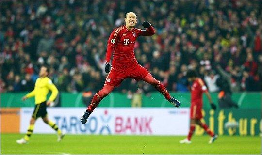 «Бавария» победила во всех 9-и матчах дома, забив в них 27 мячей