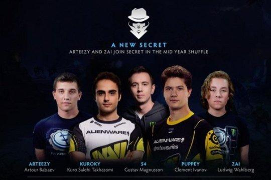 Team Secret выиграют с запасом в два очка или больше