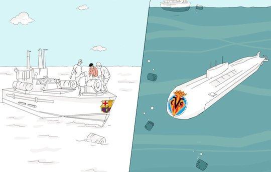 «Субмарина» не смогла потопить каталонский эсминец