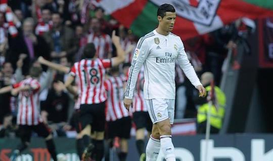 Криштиану Роналду вновь не забил в матче с басками