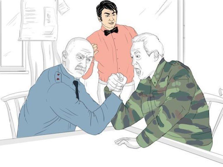 Кто победит в споре милиционеров и армейцев?