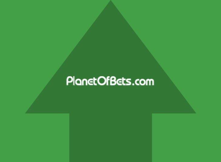 БК Planetofbets поднялась в рейтинге с 2 до 3