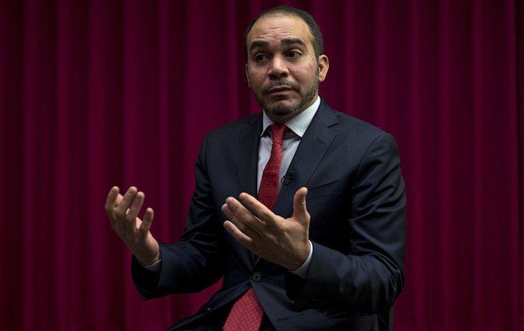 Али бин аль-Хуссейн пока не комментировал отстранение Платини