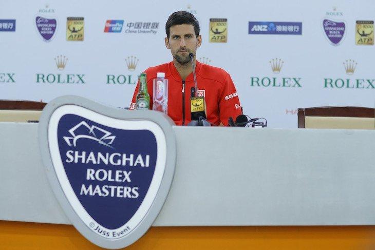 Джокович не играл с самого US Open 2016