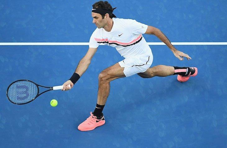 Роджер Федерер вершит историю тенниса