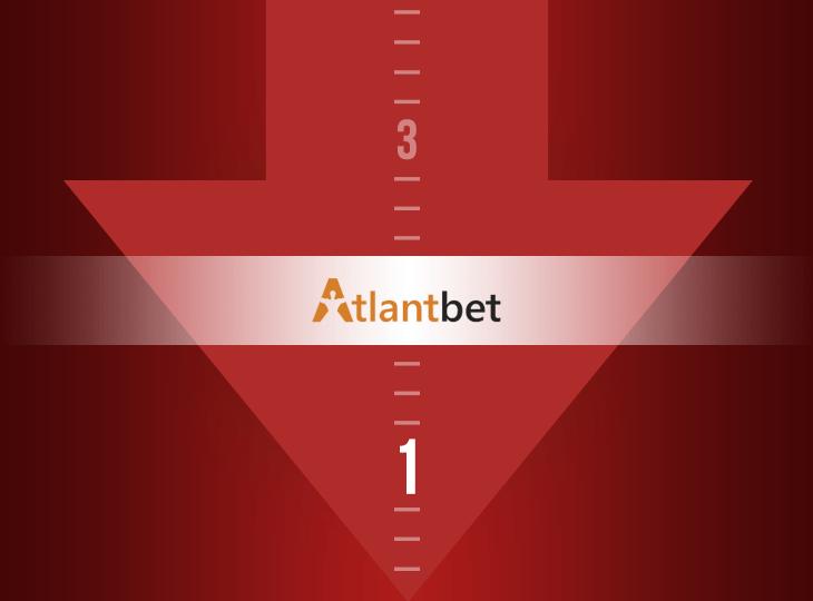 Оценка БК Atlantbet понижена с 3 до 1