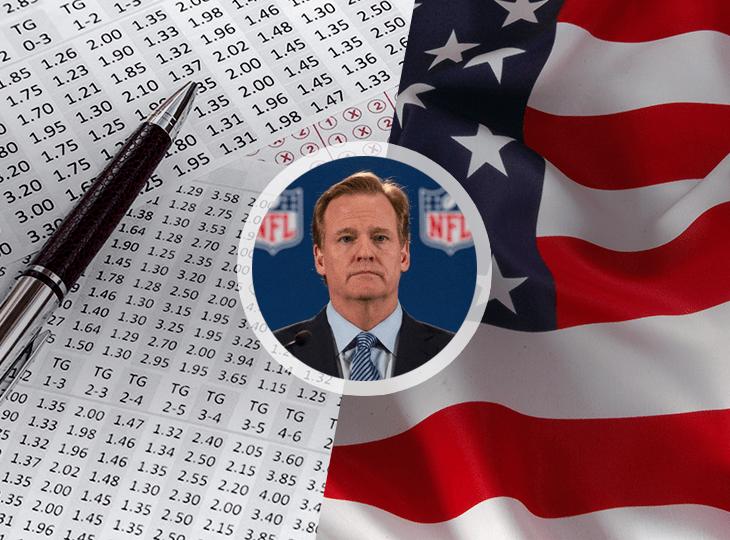Комиссар НФЛ попросил о единых стандартах для легализации ставок на спорт в США