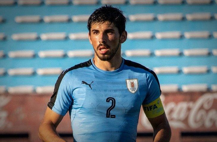 Капитан молодежной сборной Уругвая Бруно Мендес