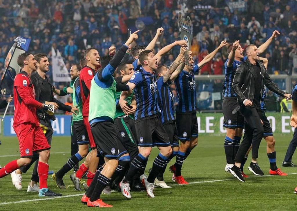 «Аталанта» впервые сыграет в Лиге чемпионов