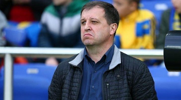 Вернидуб покинул пост главного тренера «Зари»
