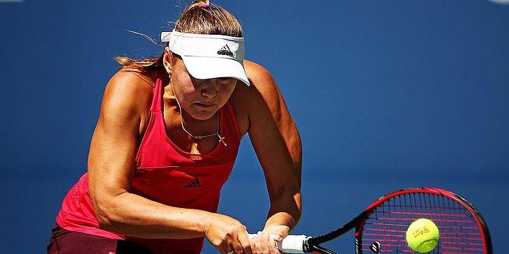 Родина проиграла в первом круге на турнире WTA в Истбурне