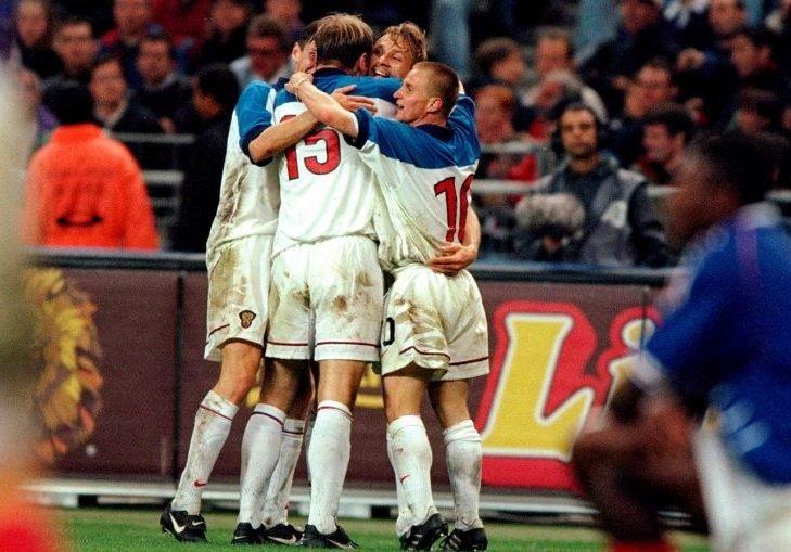 Хохлов: матч с французами в 1999 году – один из лучших по эмоциям в моей карьере