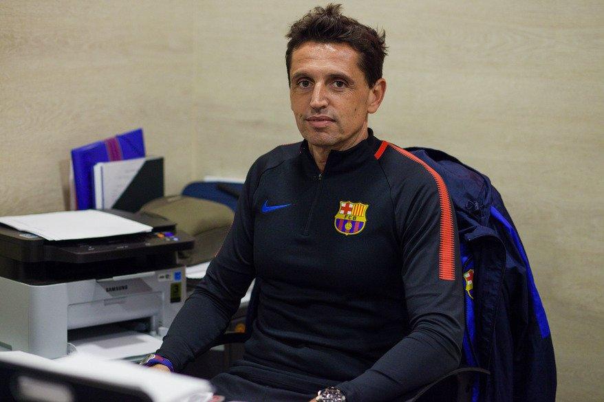 Жорди Гратакос продлил контракт с академией «Барселоны» в Москве на два года