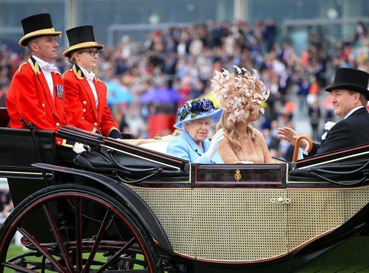 Елизавета II на Royal Ascot 2019