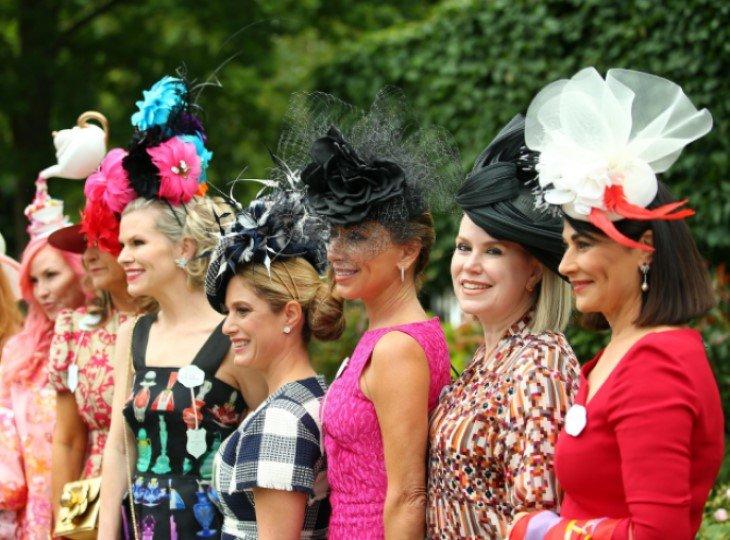 Дизайн женских шляпок на Royal Ascot поражает разнообразием