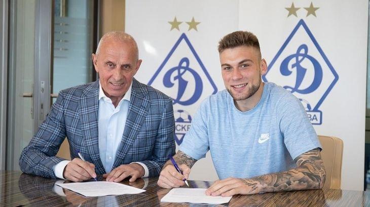 «Динамо» объявило о трансфере защитника «Рубина» Калинина