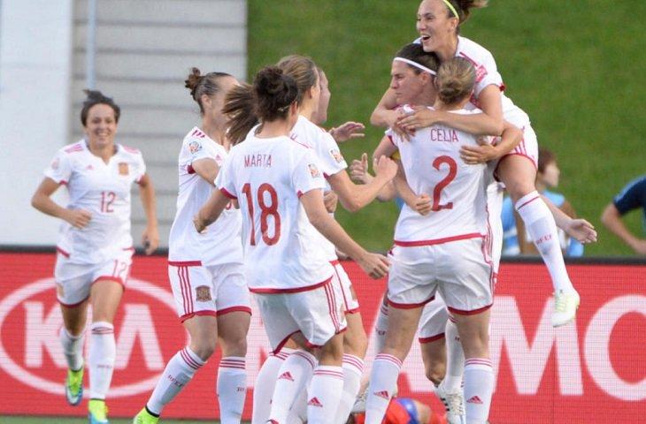 Женская сборная Испании по футболу