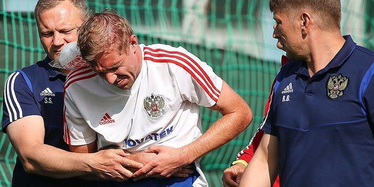 Газинский получил травму в товарищеском матче с «Чертаново»