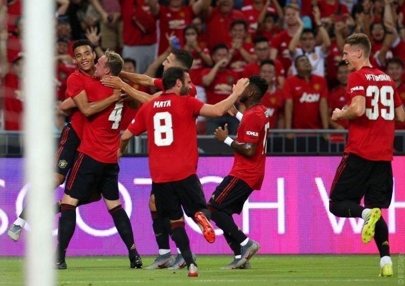 «Манчестер Юнайтед» обыграл «Интер»