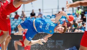 Пляжный гандбол. Россия обыграла Польшу и вышла в полуфинал Евро-2019