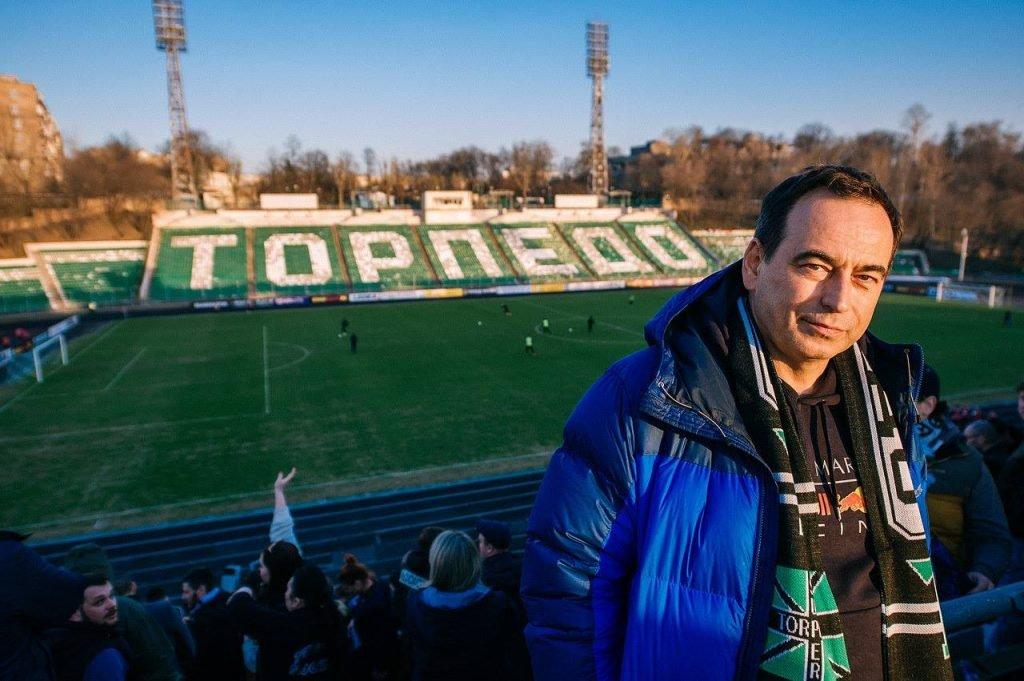 Владелец футбольного клуба «Торпедо» Роман Авдеев
