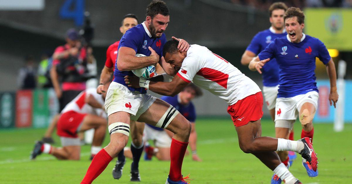 Франция одержала непростую победу в матче с Тонга