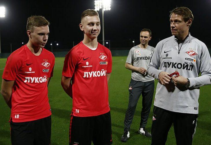 Наиль Умяров, Максим Глушенков и Олег Кононов
