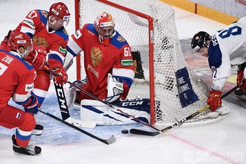 Хоккей Финляндия - Россия