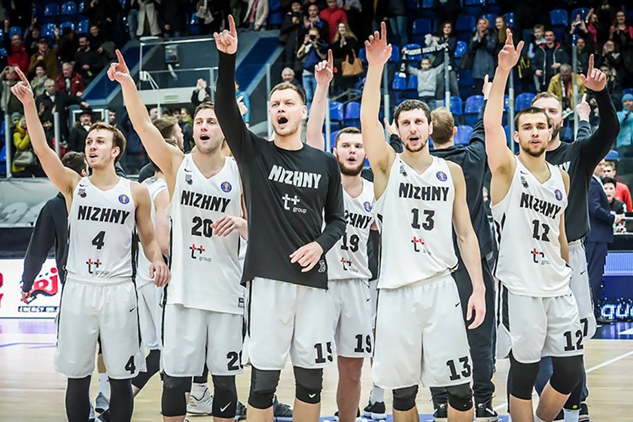 «Нижний Новгород» вырвал победу у «Брозе Бамберг» в Лиге чемпионов ФИБА