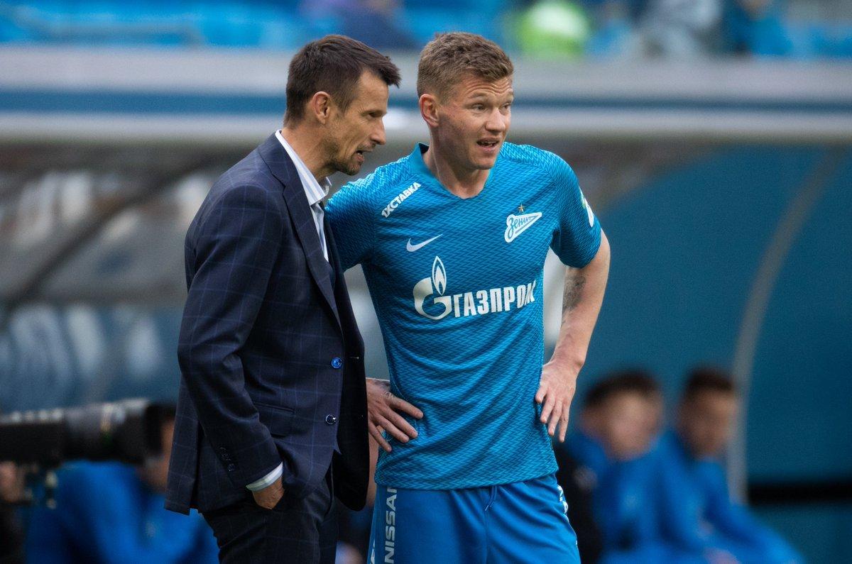 Сергей Семак и Олег Шатов