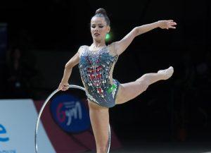 Художественная гимнастика. Екатерина Селезнёва выиграла соревнования в упражнениях с обручем на этапе Гран-при в Москве