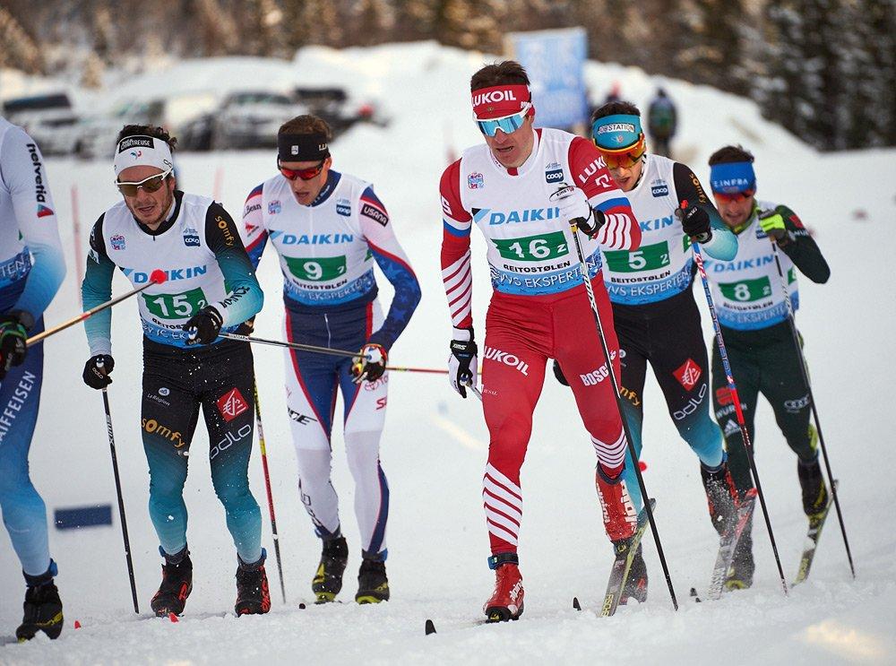 Сборная России заняла третье место в эстафете на этапе Кубка мира в Лахти