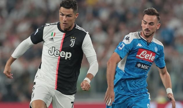 Букмекеры: «Ювентус» вероятнее всего победит «Наполи» в финале Кубка Италии