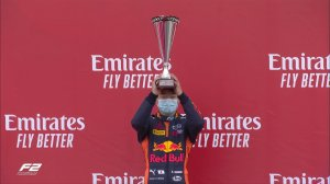 Цунода выиграл вторую гонку Формулы-2 в Великобритании, Шварцман и Шумахер столкнулись