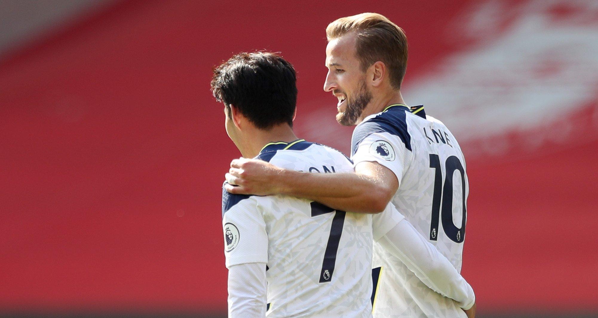 Сон и Кейн вместе сделали четыре гола за матч