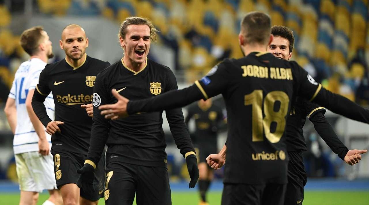 Динамо Киев - Барселона