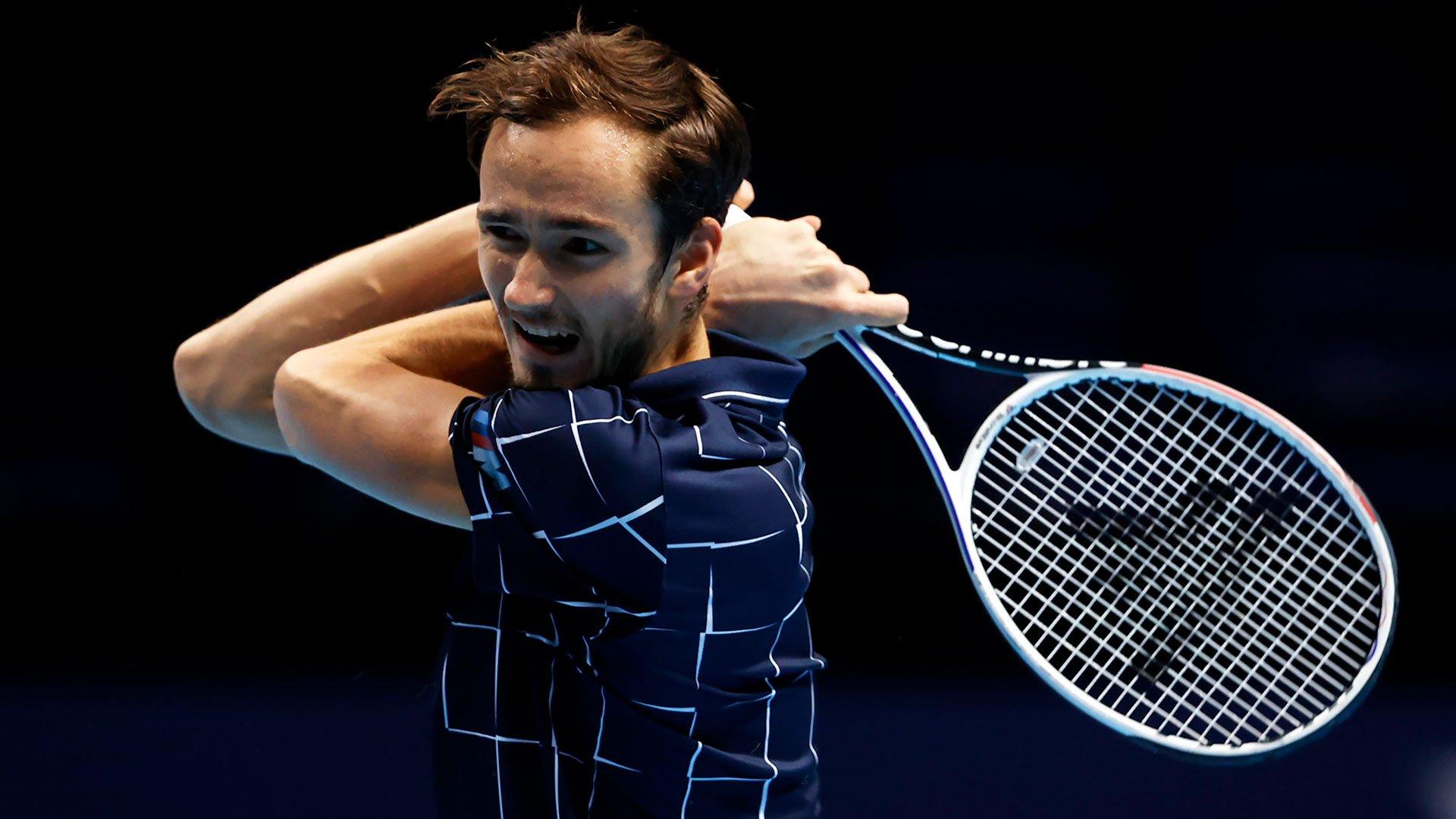 Даниил Медведев впервые в карьере вышел в финал Итогового
