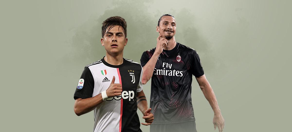 «Милан» – «Ювентус»: прогнозы, ставки и коэффициенты букмекеров на матч 16-го тура Серии А 6 января 2021 года