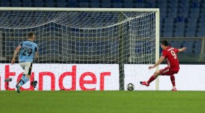 «Бавария» разгромила «Лацио» в первом матче 1/8 финала плей-офф Лиги чемпионов