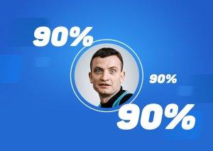 Дмитрий Егоров стал самым успешным прогнозистом «РБ» в феврале. У него почти 90% чистой прибыли