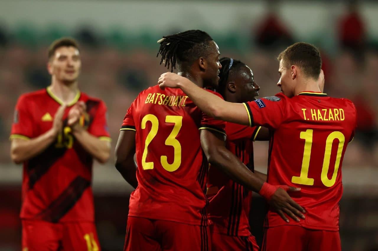 Бельгия забила восемь мячей Беларуси