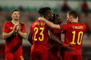 Бельгия забила восемь мячей Беларуси, Уэльс победил Чехию