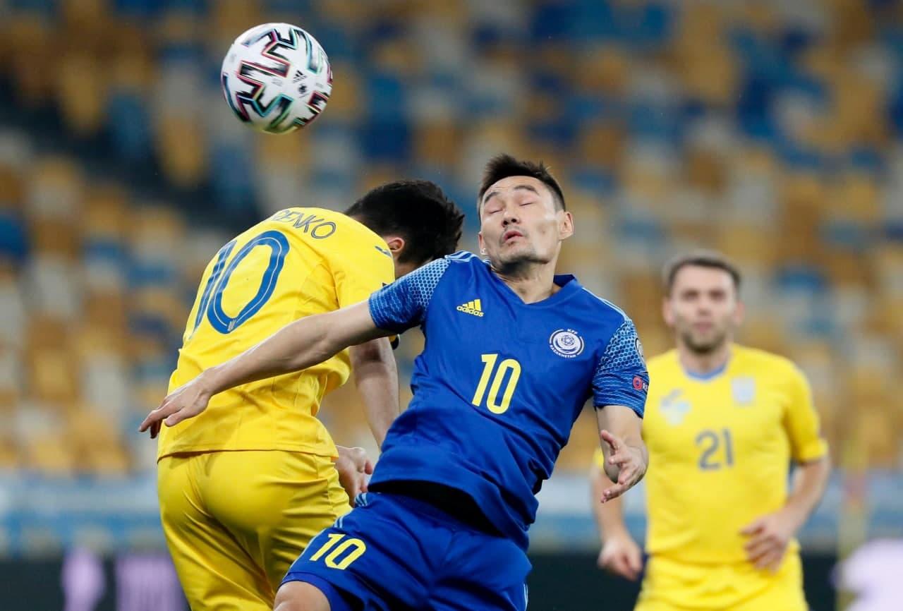 Украина не смогла одолеть Казахстан