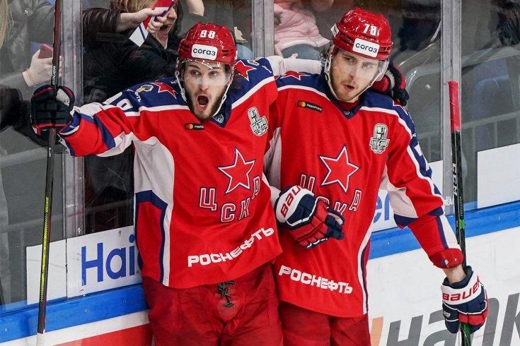 ЦСКА снова победил СКА в финале Западной конференции КХЛ