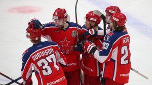 ЦСКА стал первым финалистом Кубка Гагарина, обыграв СКА
