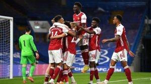 «Арсенал» одержал третью победу подряд в АПЛ, обыграв «Челси»