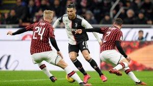 Клиент «Фонбет» поставил ₽200 тыс. на гол «Ювентуса» в матче с «Миланом» 9 мая