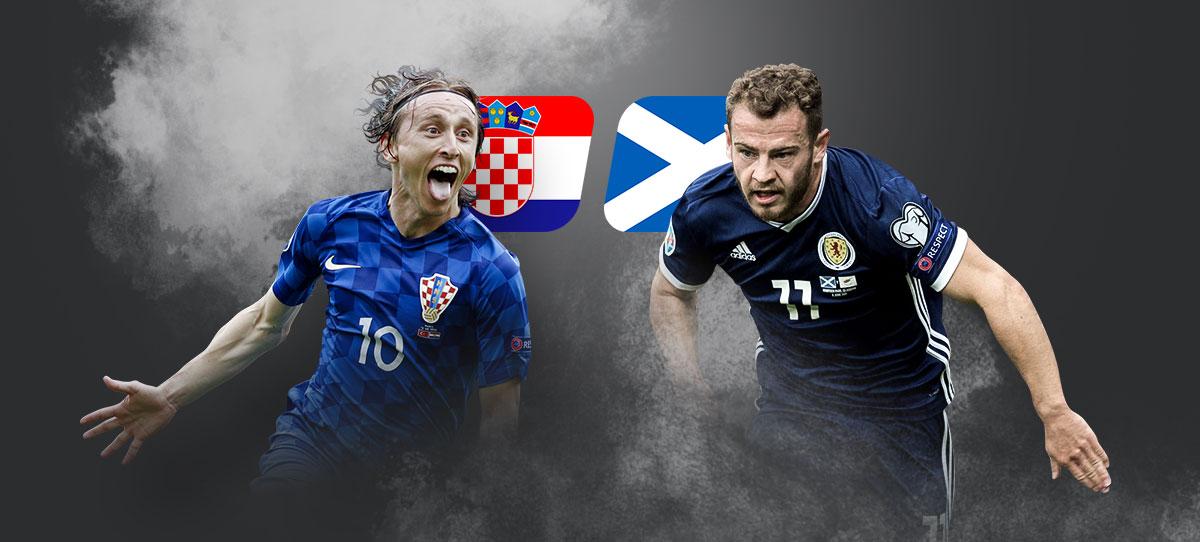 Хорватия – Шотландия: прогнозы, ставки и коэффициенты букмекеров на матч ЧЕ-2020 22 июня 2021 года